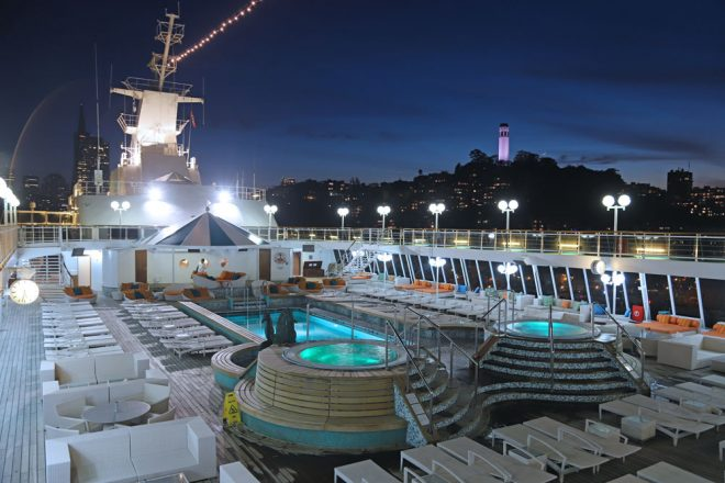 Queen Mary An Bord